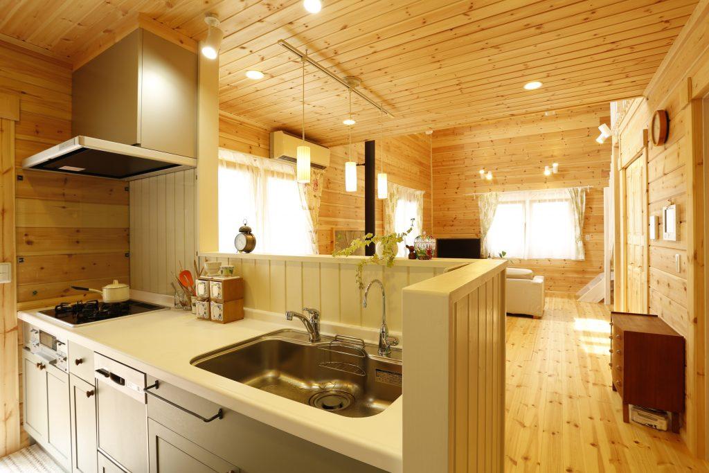 北欧住宅_キッチン1