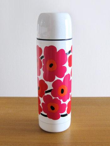 マリメッコステンレスボトル