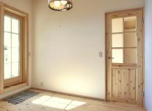 内部木製ドア