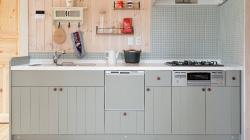 オリジナル木製オーダーキッチン