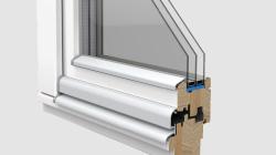 木製ドレーキップ窓